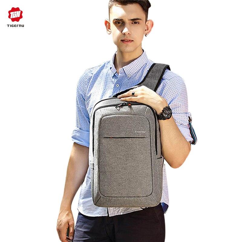 Tigernu homme sac à dos sac marque 15.6 pouces ordinateur portable portable Mochila pour hommes étanche sac à dos sac école sac à dos femmes