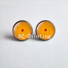 Dragon Ball z 1-7 Star printined Earrings (10 styles)
