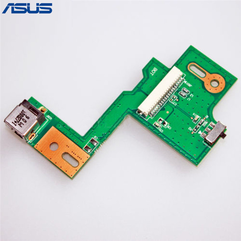 Asus N53 DC POWER JACK SWITCH BOARD Repair Parts For ASUS N53JQ N53SV N53JF N53JN N53SN Replacement parts cpu cooling fan for asus n53 n53j n53jf n53jn n53s n53sv n53sm n73j n73jn ksb06105hb ab20 am14 laptop fan cooler