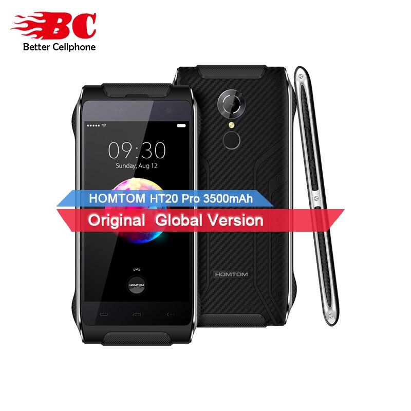 HOMTOM HT20 PRO Tri Proof IP68 Android6.0 MT6753 octa-core 1.3Ghz 3500mAh 3GB+32GB 13MP Fingerprint 4.7 Flashlight Cellphone