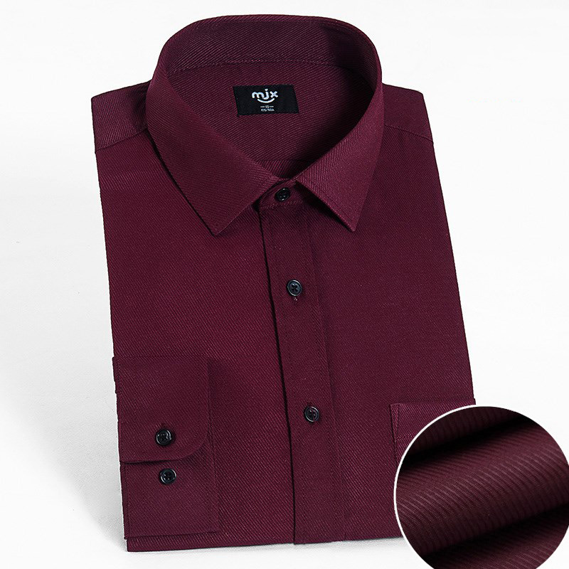 Men's Dress Shirt Poplin (Available in Regular, Slim, Fitted, and Extreme Slim Fits) 1