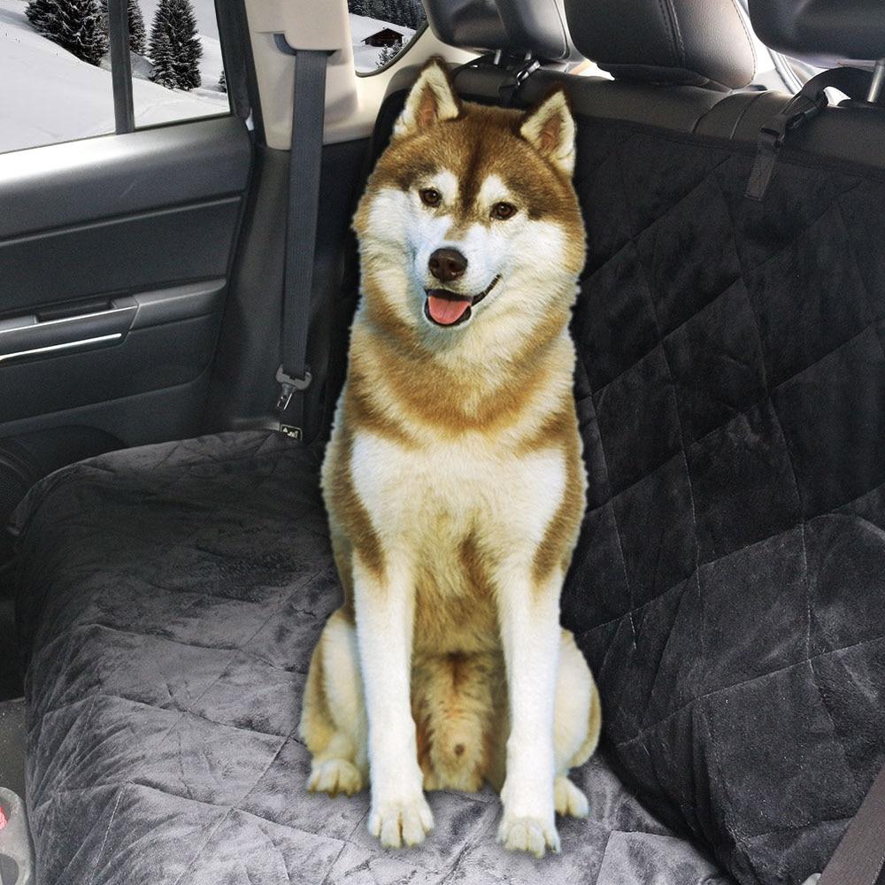 Coral Fleece Cat Dog Pet Automobiles Car Van Seat Cover Mat Pad Front Hammock Non-Slip Waterproof Keep Warm Cushion Blanket D25