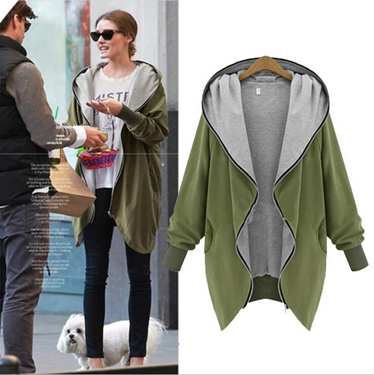 Women Winter Coat Fashion Casual Hooded Parkas Large Size Jackets Loose Autumn Outerwear Hot Sale Plus Size S-XXXXXL