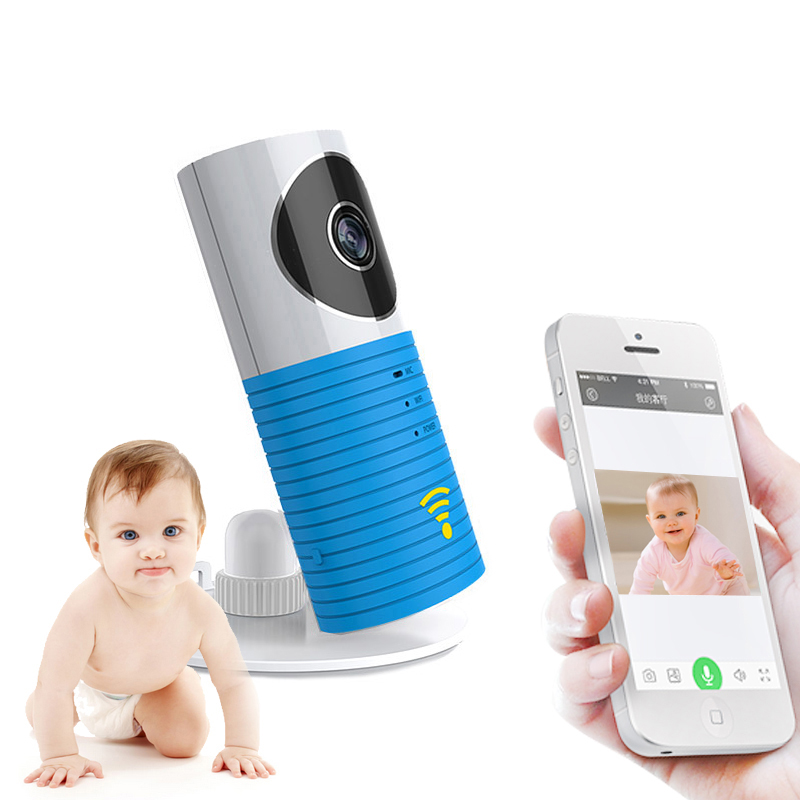 Clever Dog Wireless Wifi Baby Monitor Camera Intelligent Alerts Nightvision Intercom Wifi IP Camera support iOS Android ip камера clever dog dog 2w