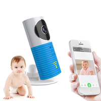 Clever Dog Wireless Wifi Baby Monitor Camera Intelligent Alerts Nightvision Intercom Wifi IP Camera support iOS Android