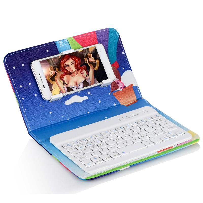 Étui pour clavier bluetooth mode pour 5.5 pouces xiaomi redmi note 4 16 go, pour xiaomi redmi note 4 64 go étui pour clavier