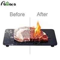 빠른 해동 고기 트레이 빠른 안전 해동 트레이 해동 접시 냉동 식품 고기 주방 도구