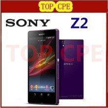 Sony Xperia Z2 Original Unlocked GSM 3G&4G Android Quad-Core 2GB RAM D6503 5.2″ 20.7MP WIFI GPS 16GB Dropshipping