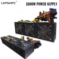 Lapsaipc 2600W Switching Power Supply New And Original Mining Machine Miner 94 High Efficiency Supports 8