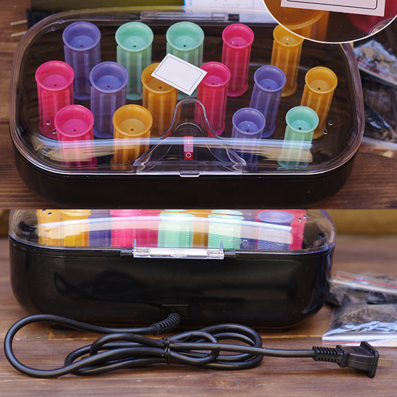 15 Pcs/Set Arrow Electronic Roll Hair Tube Heated Roller Sticks For Styling Accessories Colorful Roll For Lady Hairl Care  H7JP 6pcs set 39x 27 5x2 5cm silica gel foldable portable roller up usb electronic drum kit 2 drum sticks 2 foot pedals