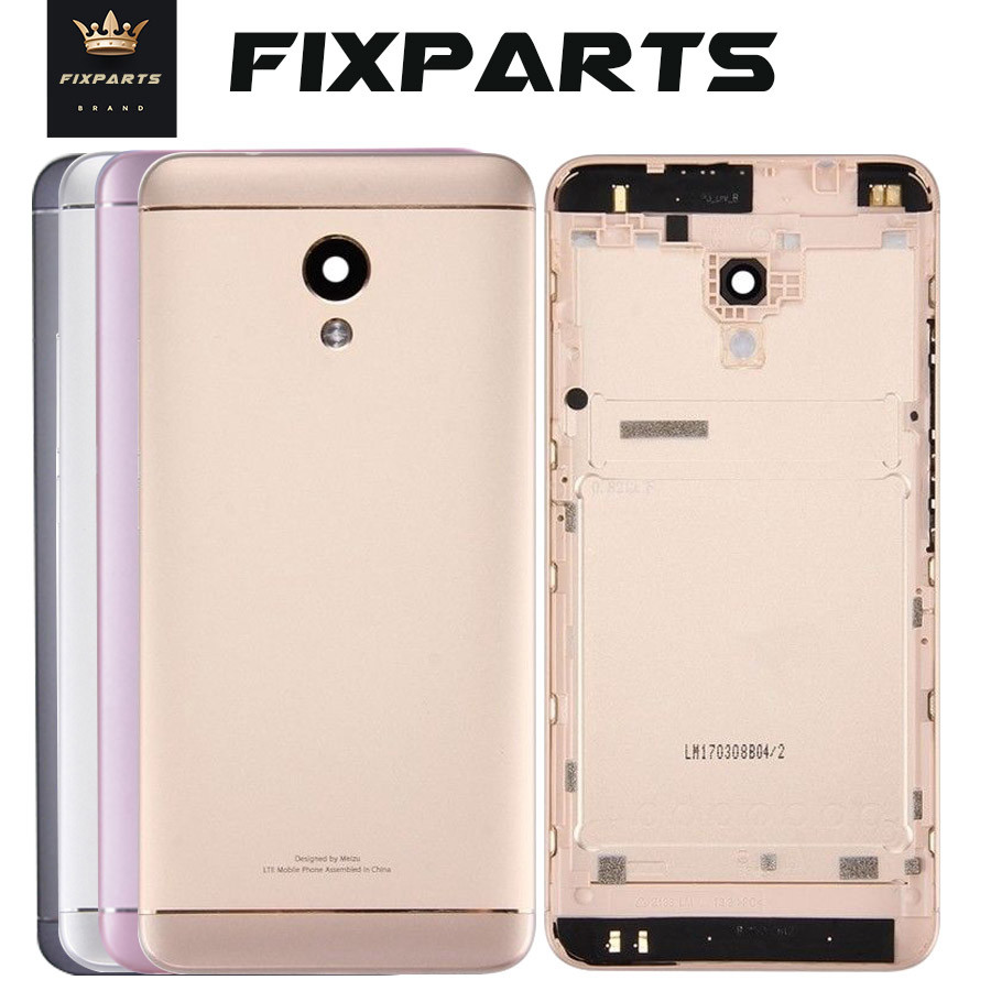 Back Housing For MEIZU M5S Back Cover Case Battery Meilan 5S M612H M612M Rear Door Replacement For MEIZU M5S Housing