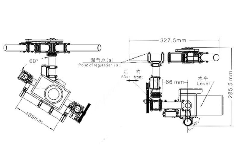 Tarot Invincible 3 axes TL100AAA 5D2 support de caméra pour DSLR 5D Mark D800 900 photo aérienne FPV TL100B01 - 5