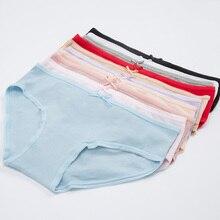 4f38caaca1 GUMPRUN Send Five Randomly Purely Cotton Panties Mid Waist Sexy Briefs  Large size