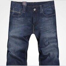 2017 короткие джинсы мужчины летние джинсы хлопок джинсы размер 29-38 бесплатная доставка синие джинсы