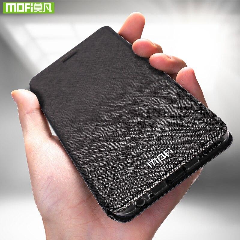 Para Xiaomi Redmi Nota 5 Pro caso Para Xiaomi Redmi Nota 5 Pro case capa bolsa em couro flip Mofi Para Capa de silicone caso Xiaomi Nota Redmi 5