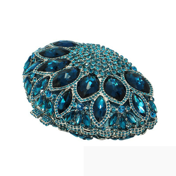 Diverse Color Rhinestone Crystal Evening Clutches  2