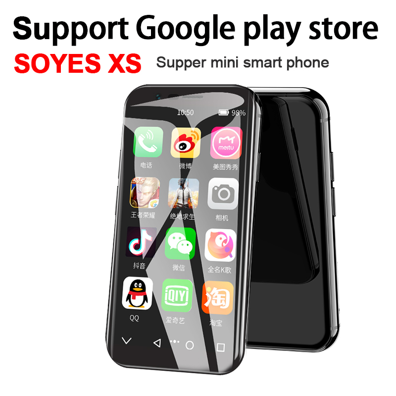 2019 SOYES XS 4G Google Play Store 3.0 Screen Mini Smartphone 2GB+16GB/3G+32G Android 6.0 Bluetooth4.0 Wifi GPS PK SOYES 7S