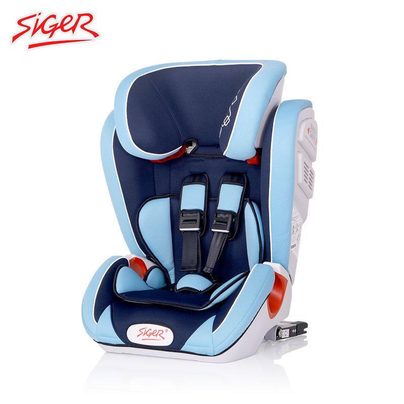 """Детское автокресло Siger """"Индиго ISOFIX"""" 1-12 лет, 9-36 кг, группа 1/2/3"""