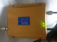 Cell Phone 3G GSM Dual Band Signal Booster GSM Signal Repeater WCDMA 3G 2100mhz Cellular Signal