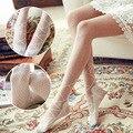 2016 nuevo diseño de moda mujer sexy Crystal medias panty medias envío libre Al Por Mayor Pantimedias delgada para mujer de la muchacha