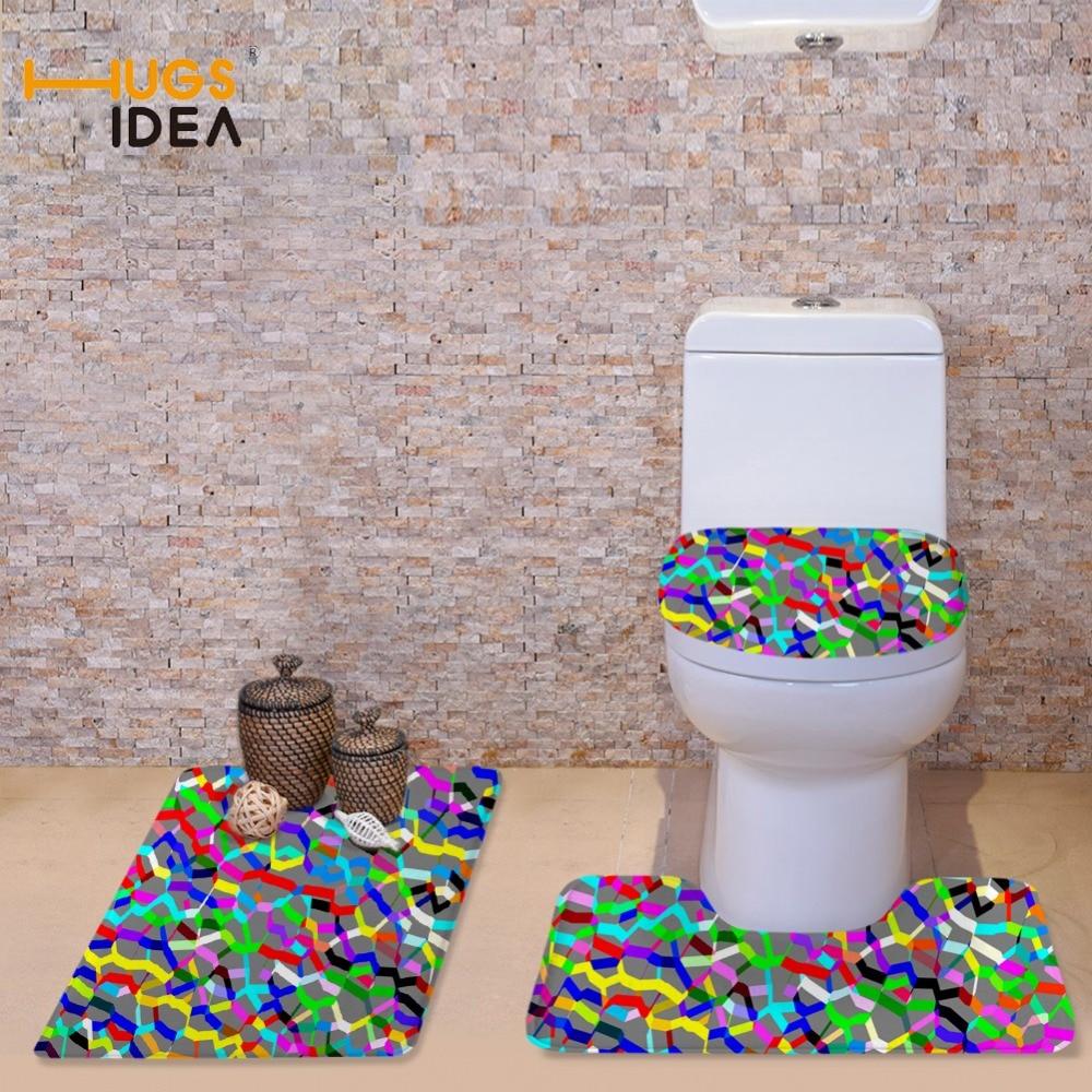 HUGSIDEA dažādu krāsu 3PCS komplekts - silts tualetes sēdekļa - Mājsaimniecības preces