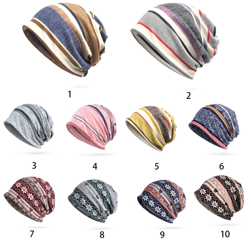 Women's Baggy Slouchy Beanie Chemo Hat Scarf Pregnant Woman's Month Cap Warm Hat