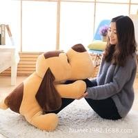 85cm Lovely lap dog plush toys Doll pillow big dog birthday gift
