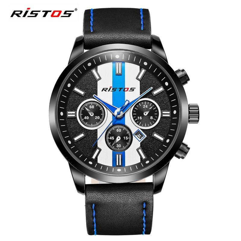 Ristos גברים ספורט קוורץ שעונים צבא - שעונים גברים