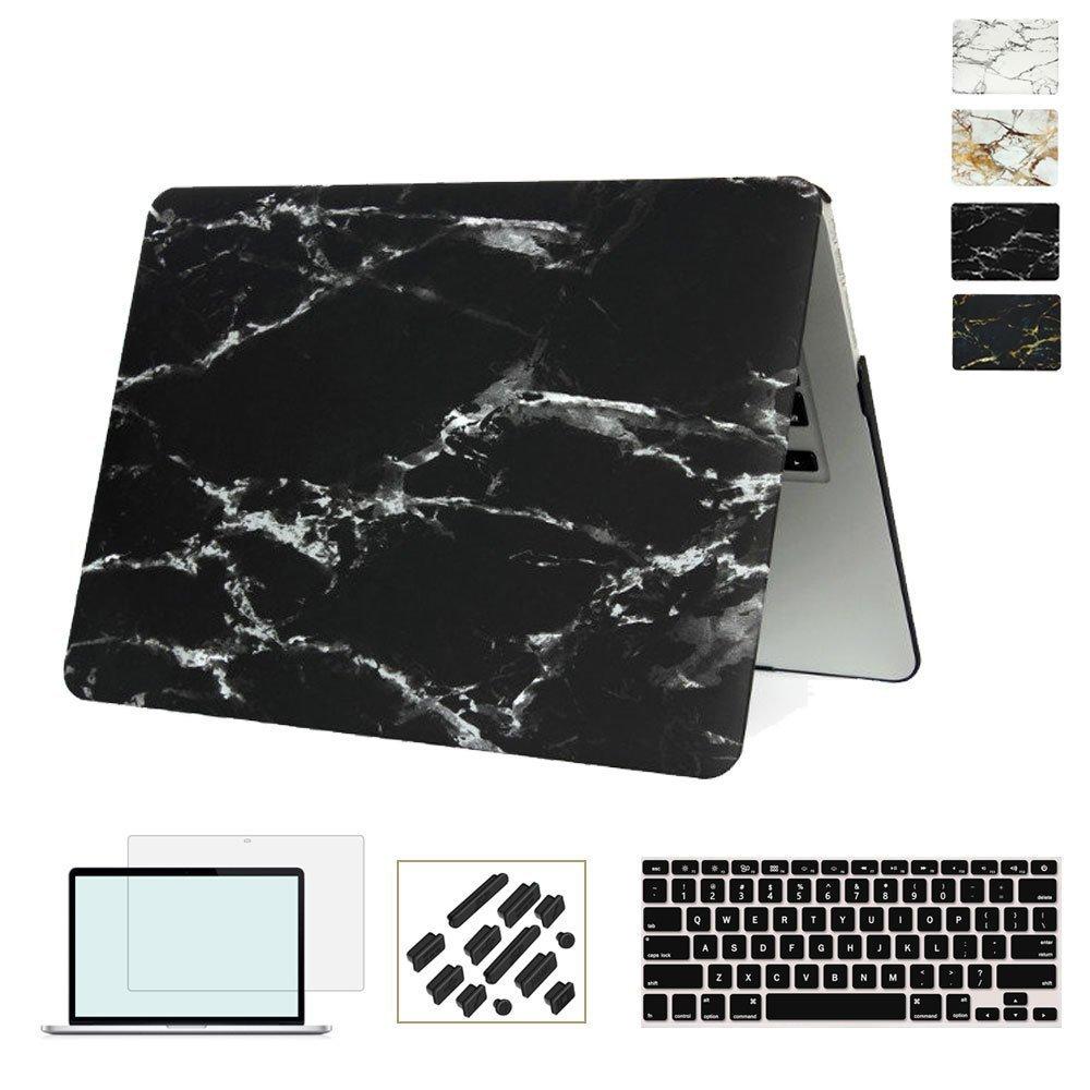 RYGOU Funda con textura de mármol para Apple Macbook Air Pro Retina - Accesorios para laptop - foto 4