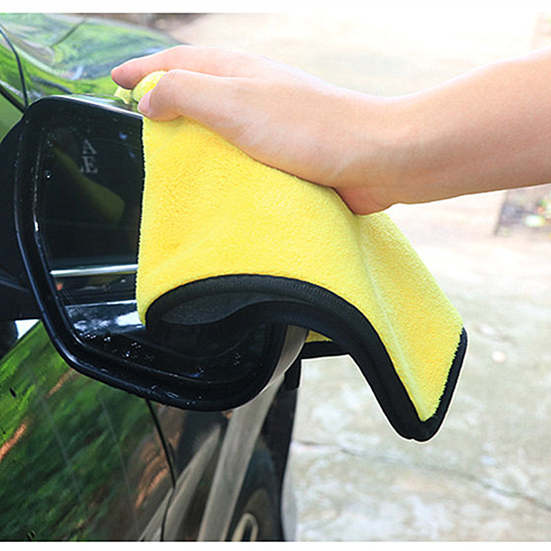 Image 3 - Microfiber Car Wash Towel Car Cleaning Cloth FOR  volkswagen bmw e46 e90 peugeot 206 307 mercedes audi a3 seat ibiza leon fiat 5-in Car Tax Disc Holders from Automobiles & Motorcycles