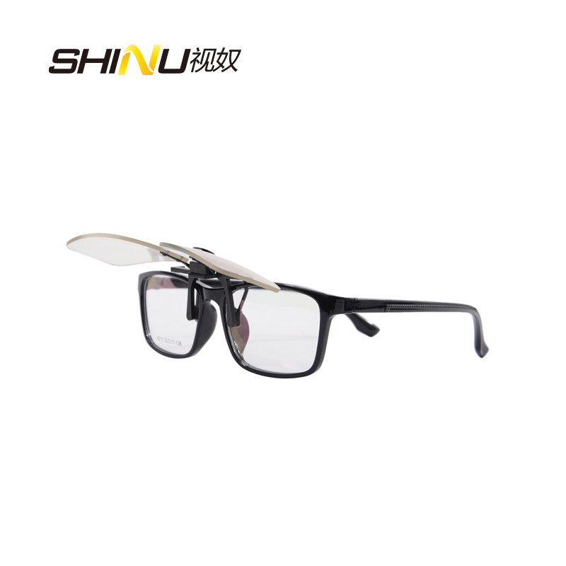 98bb083b5c4 Blue Light Blocking Cip on Glasses Anti Blue Ray Computer Glasses 100%  UV400 Radiation-resistant Goggle Gaming Glasses