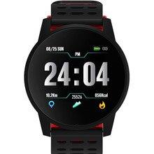 스마트 시계 남성 스포츠 방수 활동 피트니스 트래커 여성 혈압 심장 박동 모니터 smartwatch android ios