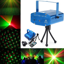 LED Lights Sound Activated Disco DJ Party Light Mini Auto Flash Stage with Remote Control LB88
