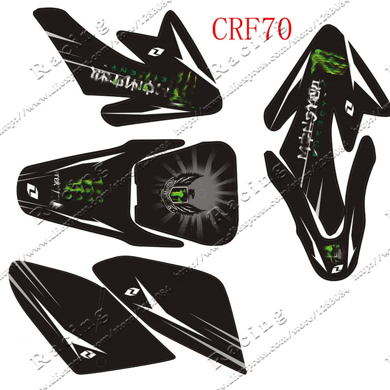 Online Get Cheap Pit Bike Graphic Aliexpresscom Alibaba Group - Decal graphics for dirt bikes