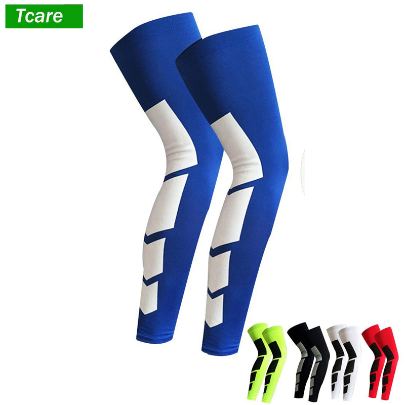 1Pcs Anti Slip Full Length Compression Leg Sleeve Calf&Shin Splint Support Protect For Pain Relief &Recovery