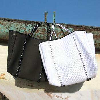 SUNNY BEACH  Luxury Women Bag Tote Crossbody Shoulder Bag Big Shopping Neoprene Bag Light  Women's Handbags Bolsas Female Bag
