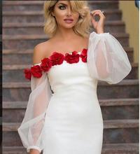2017 Sexy Einzigartige Abendkleid Abendkleid Gerade Liebsten Poet Weiß Blumen Lange Abschlussball-kleider Abschlussball-partei-kleid