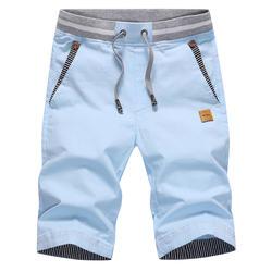 Прямая доставка Лето 2017 г. однотонные повседневные шорты для мужчин брюки карго шорты для женщин плюс размеры 4XL пляжные шорты M-4XL AYG36
