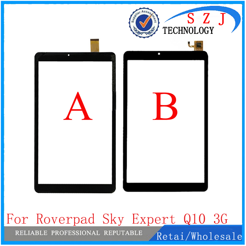 New 10.1'' inch touch screen for RoverPad Sky Expert Q10 3G touch panel Tablet PC digitizer Free Shipping new capacitive touch screen panel for 10 1 roverpad sky expert q10 3g tablet digitizer glass sensor replacement free shipping