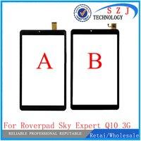 Novo 10.1 ''tela de toque da polegada para RoverPad Céu Especialista Q10 3G Tablet PC painel de toque digitador Frete Grátis