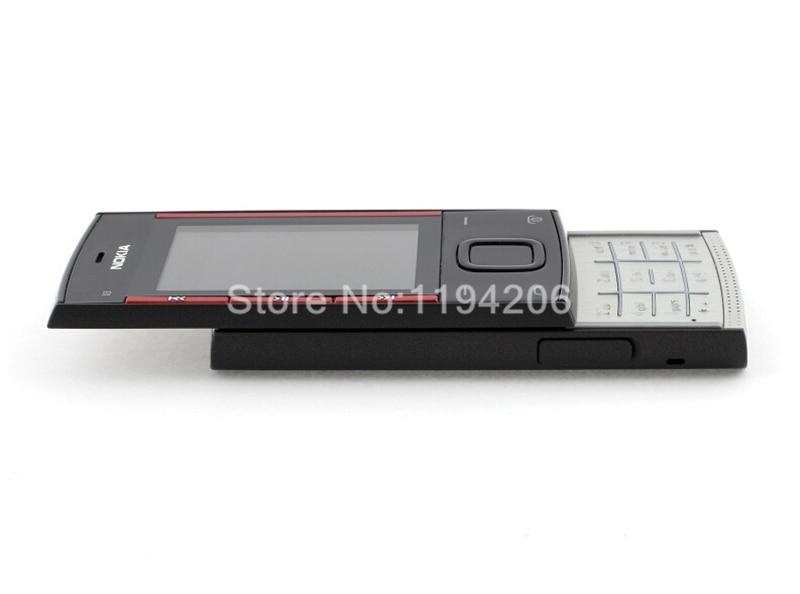 Refurbished nokia x3-00 3.2MP 2.2-inch 860mAh bluetooth camera phone red 6