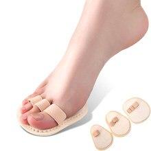 1 worek palec młotowaty korektor pielęgnacja stóp zapobieganie Callus Orthotics palce nasadka na sedes prostowanie pasa działa przeciwbólowo korekta