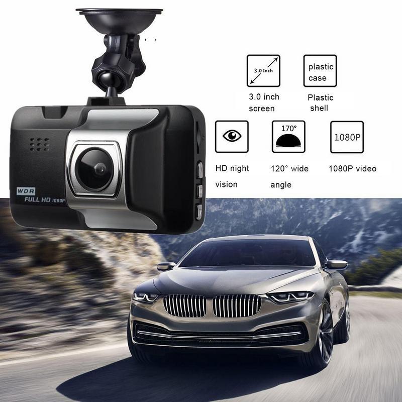 Image 3 - Автомобильный видеорегистратор 1080P дюймов Автомобильная hd камера видеорегистратор 140 широкоугольный Автомобильный видеорегистратор для автомобиля g сенсор
