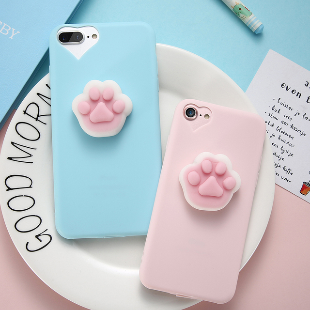 Squishy Cat Phone Case for iPhone