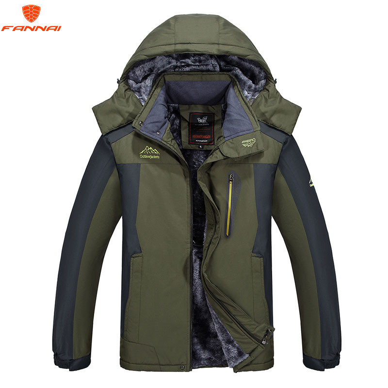 Men 5XL <font><b>6XL</b></font> <font><b>7XL</b></font> 8XL <font><b>9XL</b></font> Winter Jacket Men Warm Casual Parkas Cotton Winter Coats Male Padded Overcoat Outerwear Clothing image