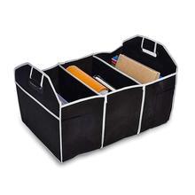 Foldable Fabric Shopping Stuff Storage Debris Car Boot Organizer Bag Holder car accessories
