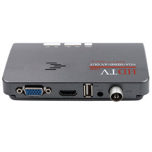 Image 4 - ТВ тюнер Kebidumei DVB T/DVB T2 ТВ приставка VGA AV CVBS 1080P HDMI Цифровой HD спутниковый ресивер с пультом дистанционного управления