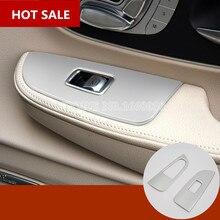 Внутренняя двери автомобиля подлокотник окно переключатель крышки 2 шт. для Benz V-Class W447 2014-2018