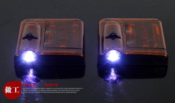 car door welcome light laser projector beacon light projection lamp laser light modification(used for Peugeot 2008 )
