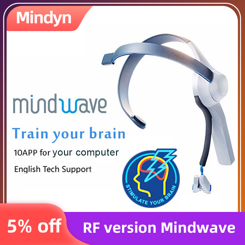 Hot Sale Mindwave Headset International Rf Version Dry Electrode EEG Attention And Meditation Controller Neuro Feedback(China)
